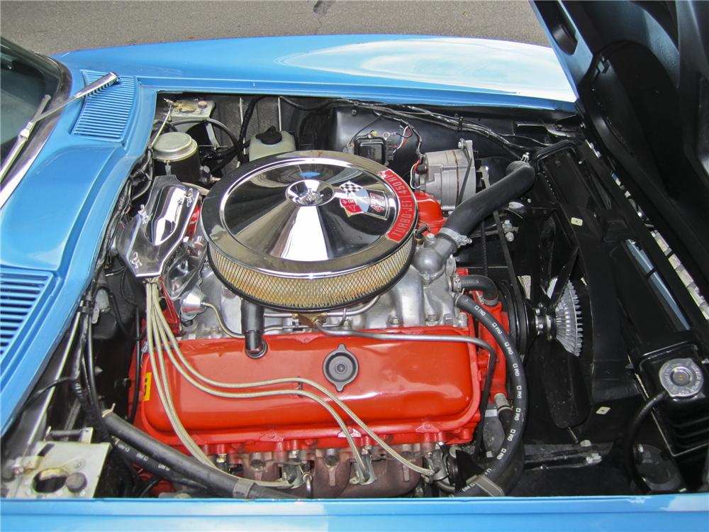 1966 CHEVROLET CORVETTE CONVERTIBLE - Engine - 97507