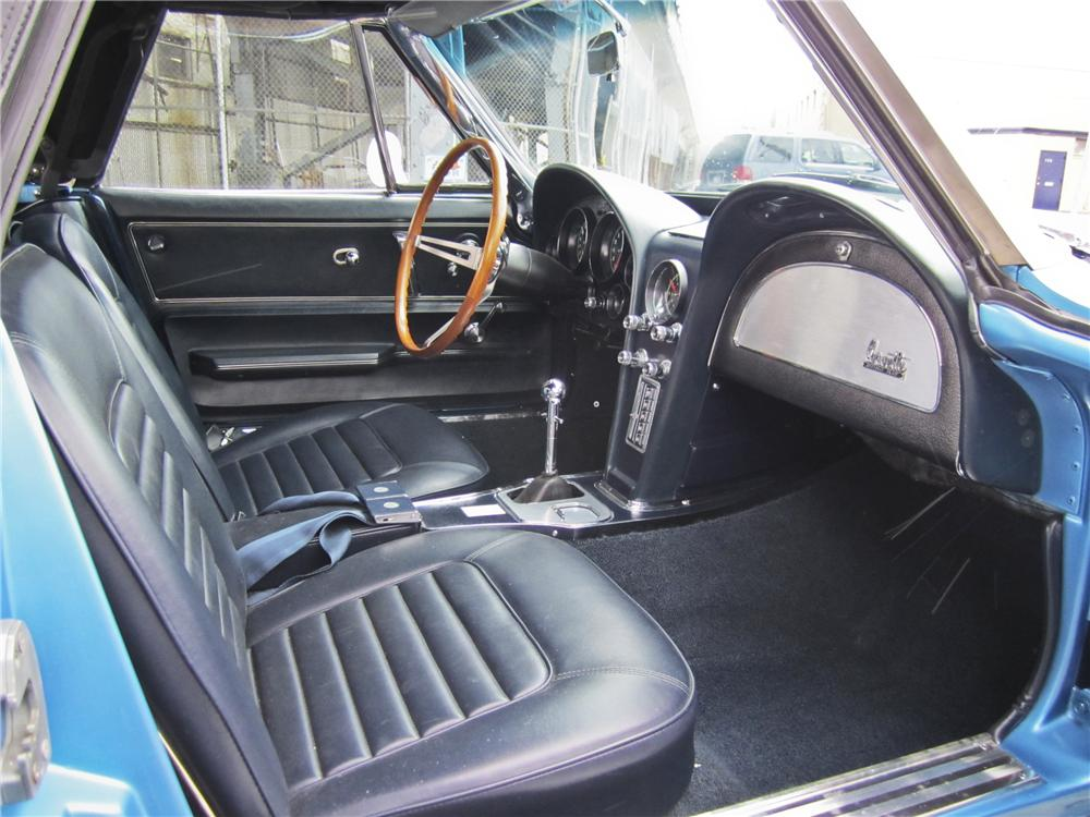 1966 CHEVROLET CORVETTE CONVERTIBLE - Interior - 97507