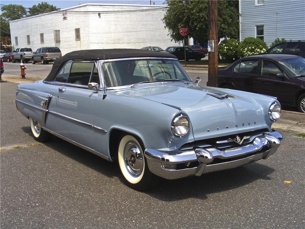 1953 Lincoln Capri 2 Door Convertible 97510
