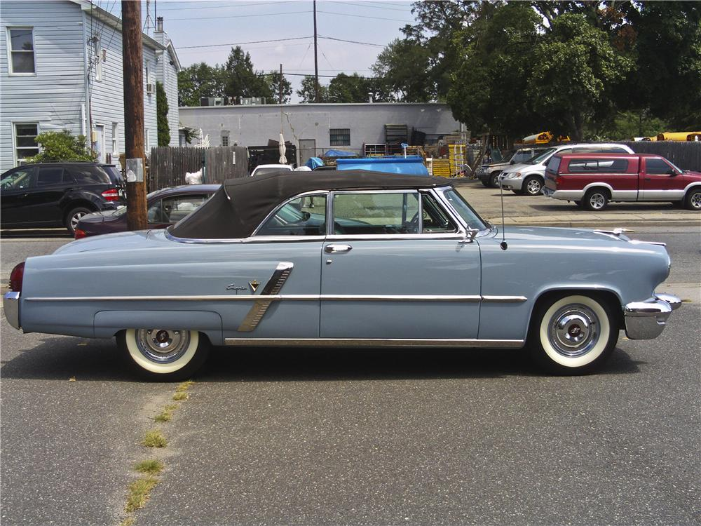 1953 LINCOLN CAPRI 2 DOOR CONVERTIBLE 97510 on 4 2 ford engine