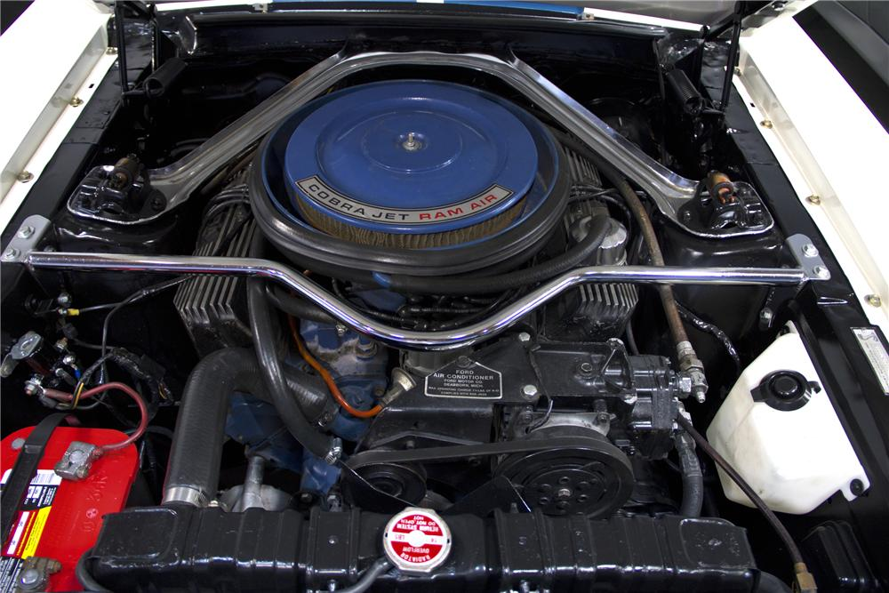 1968 SHELBY GT500 KR FASTBACK - Engine - 97512