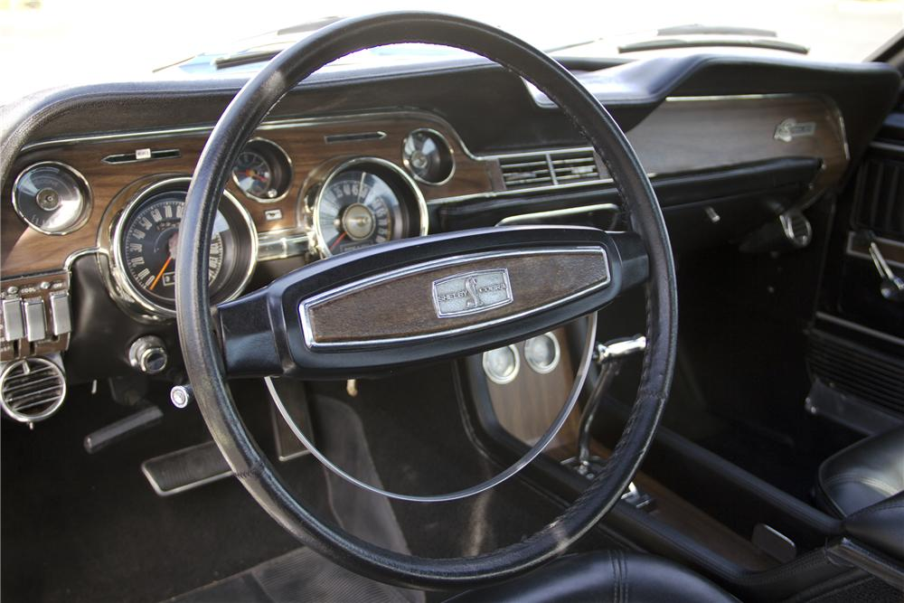 1968 SHELBY GT500 KR FASTBACK - Interior - 97512