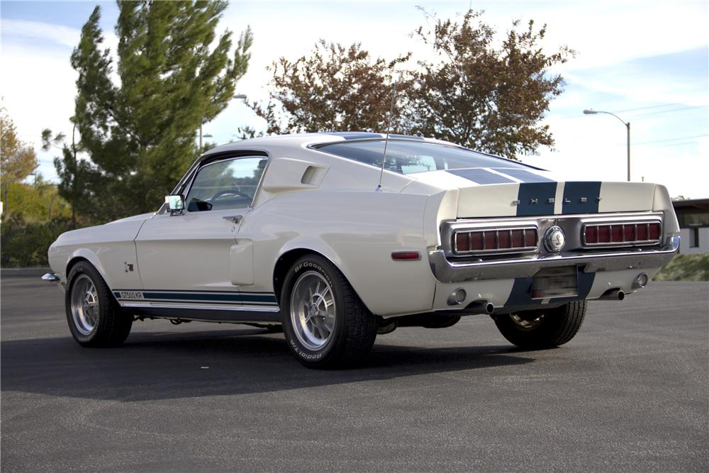 1968 SHELBY GT500 KR FASTBACK - Rear 3/4 - 97512