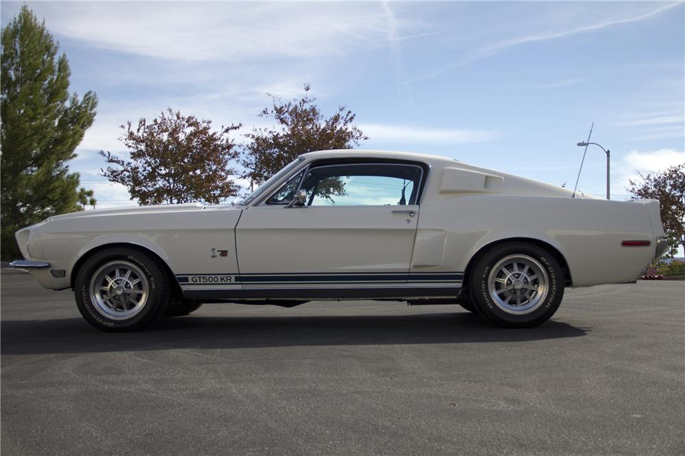 1968 SHELBY GT500 KR FASTBACK - Side Profile - 97512
