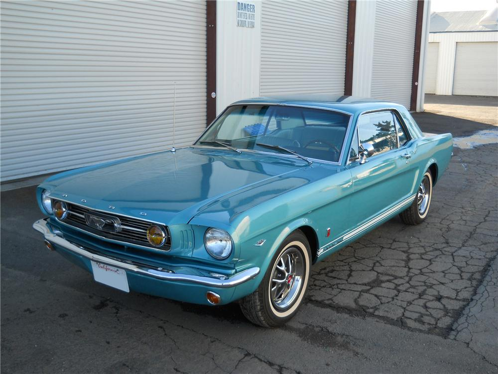 1966 Ford Mustang Gt Coupe 97515