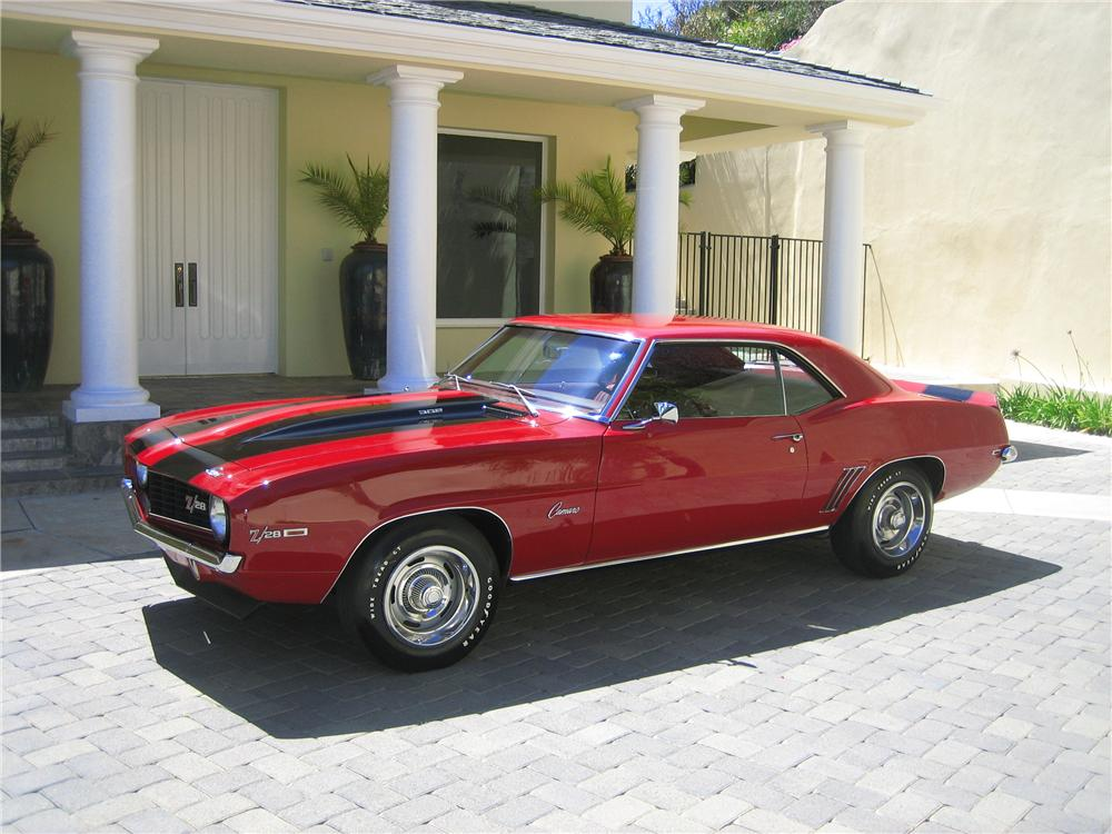 1969 CHEVROLET CAMARO Z/28 COUPE - Front 3/4 - 97518