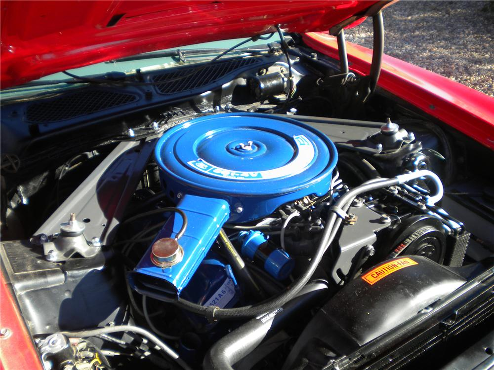 1973 FORD MUSTANG CONVERTIBLE - Engine - 97527