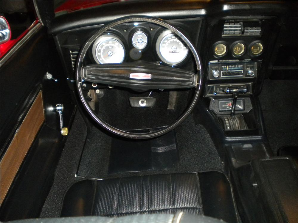 1973 FORD MUSTANG CONVERTIBLE - Interior - 97527