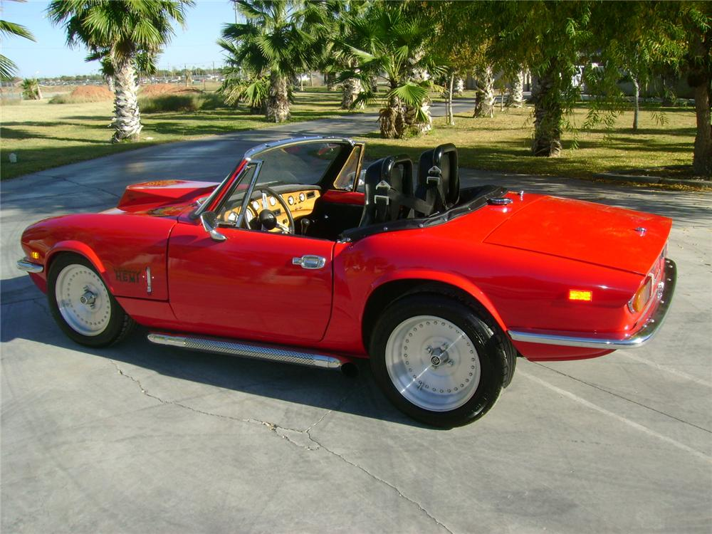 1974 triumph spitfire custom roadster 97529. Black Bedroom Furniture Sets. Home Design Ideas