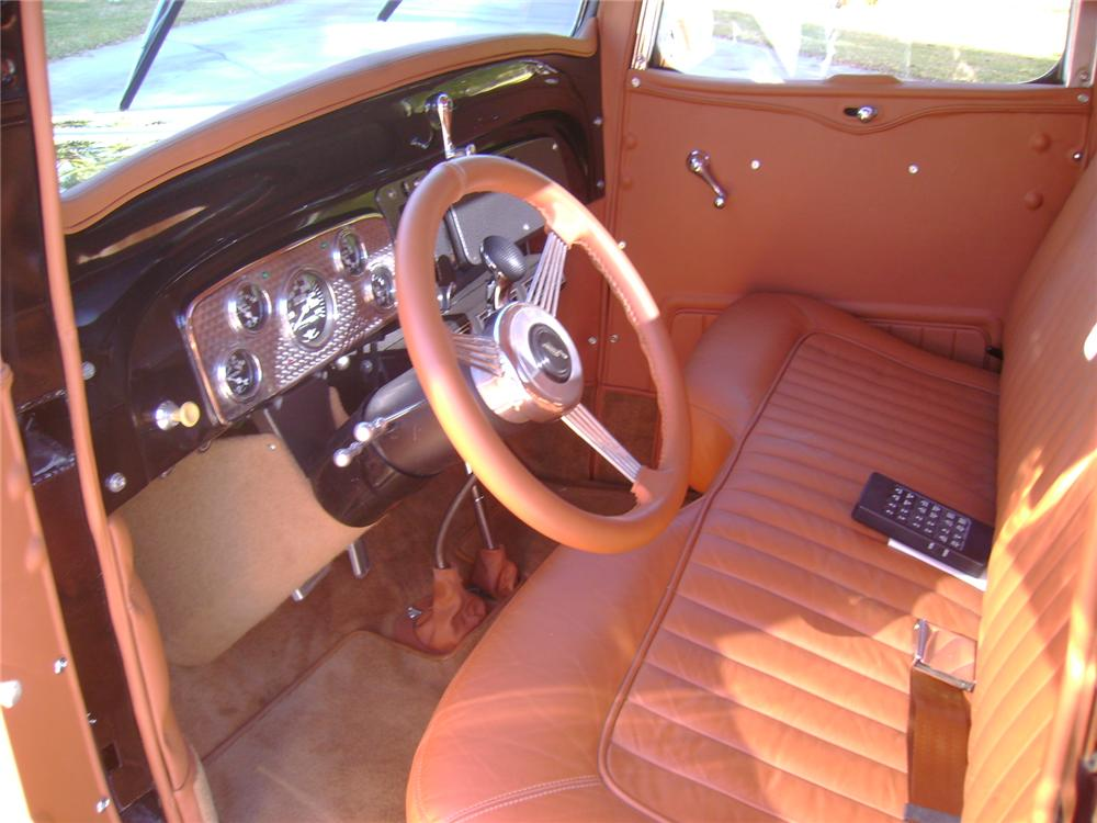 1937 CHEVROLET CUSTOM PICKUP - Interior - 97533