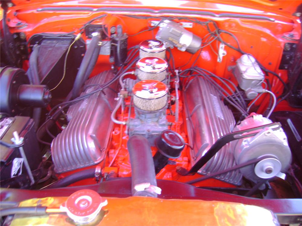 1957 CHEVROLET NOMAD CUSTOM STATION WAGON - Engine - 97534