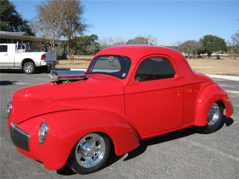 1941 WILLYS PRO-STREET COUPE - Front 3/4 - 97560