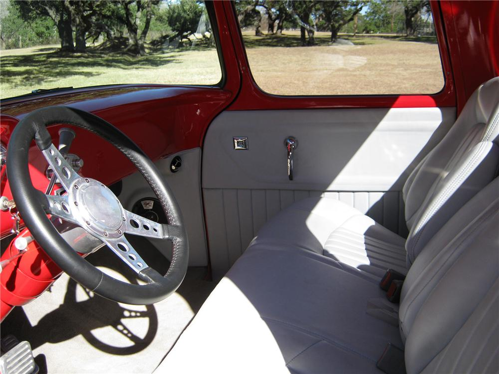 1957 CHEVROLET CUSTOM PICKUP - Interior - 97562