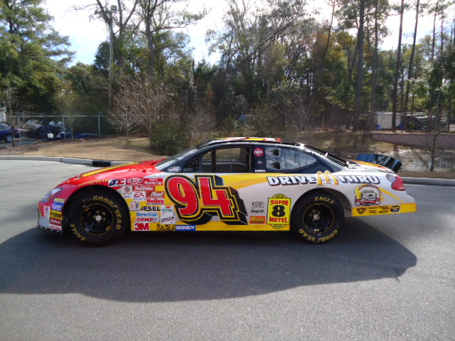 2000 FORD TAURUS #94 NASCAR RACECAR - Side Profile - 97573