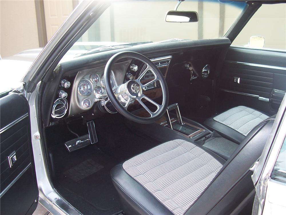 1968 CHEVROLET CAMARO SS CUSTOM COUPE - Interior - 97576