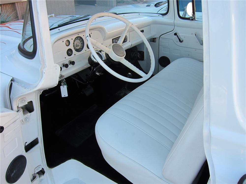 1957 FORD F-100 CUSTOM PICKUP - Interior - 97691