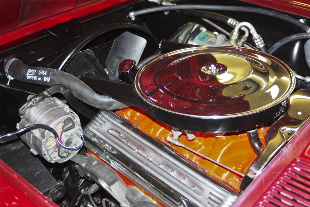 1965 CHEVROLET CORVETTE CONVERTIBLE - Engine - 97694