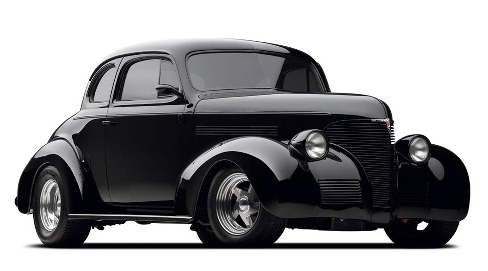 1939 CHEVROLET CUSTOM COUPE - Front 3/4 - 97695