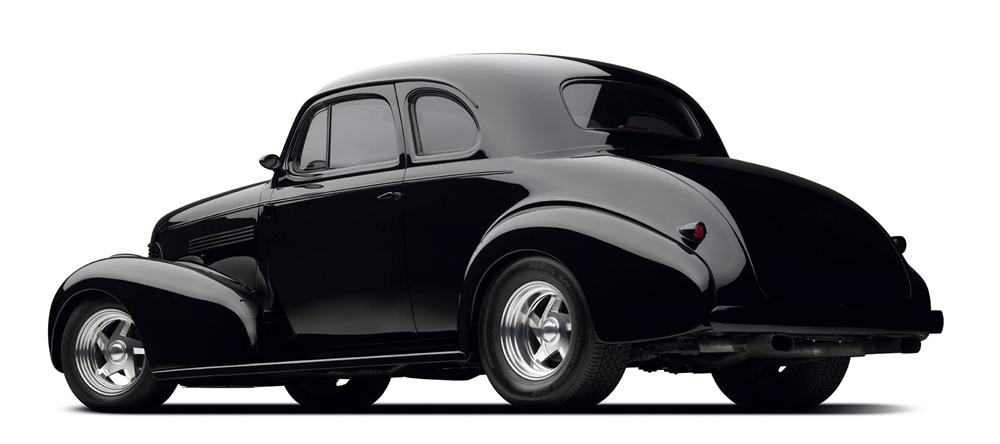 1939 CHEVROLET CUSTOM COUPE - Rear 3/4 - 97695