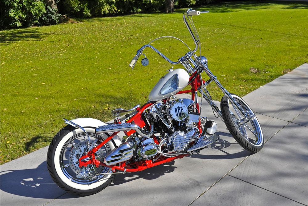 2005 OCC CORVETTE CUSTOM CHOPPER - Front 3/4 - 97700