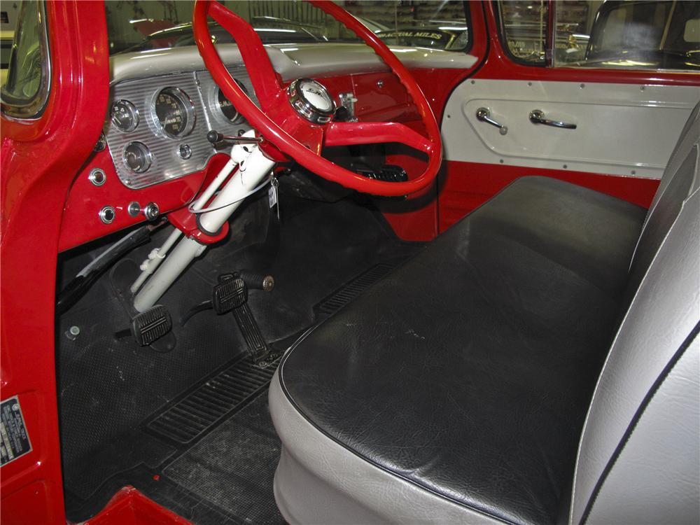 1958 GMC 1/2 TON PICKUP - Interior - 97701