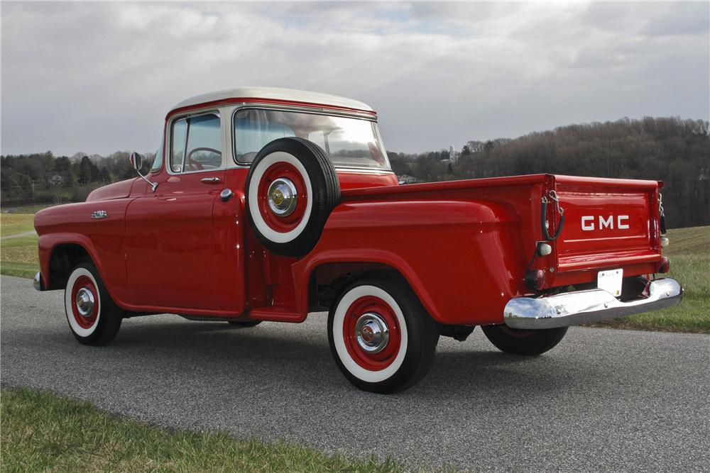1958 GMC 1/2 TON PICKUP - Rear 3/4 - 97701