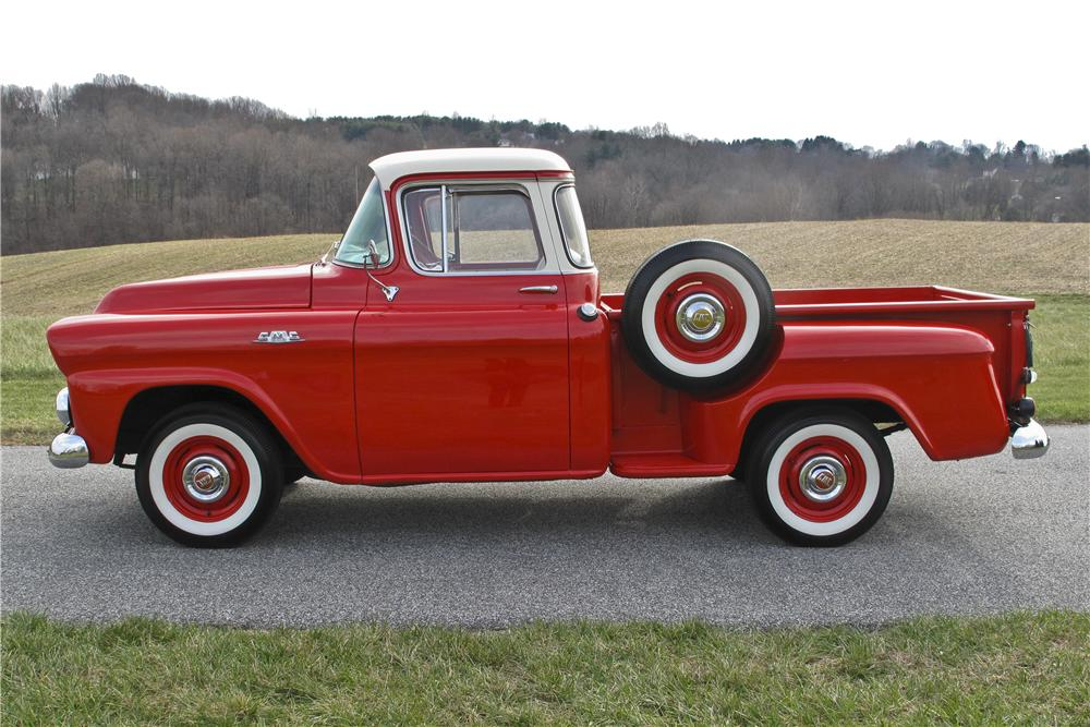 1958 GMC 1/2 TON PICKUP - Side Profile - 97701