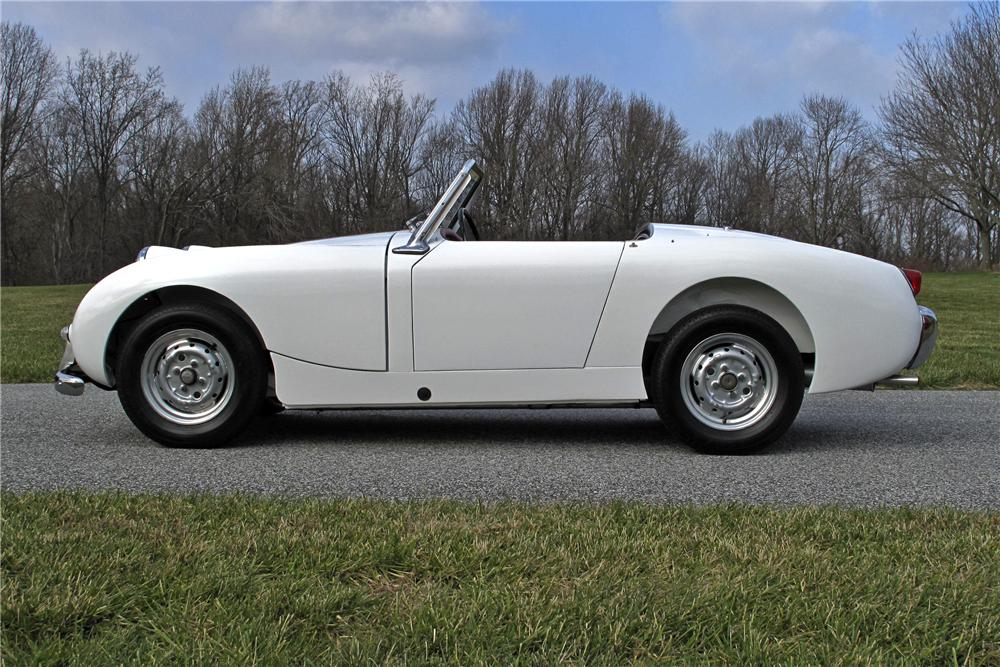 1959 AUSTIN-HEALEY SPRITE BUGEYE ROADSTER - Side Profile - 97702