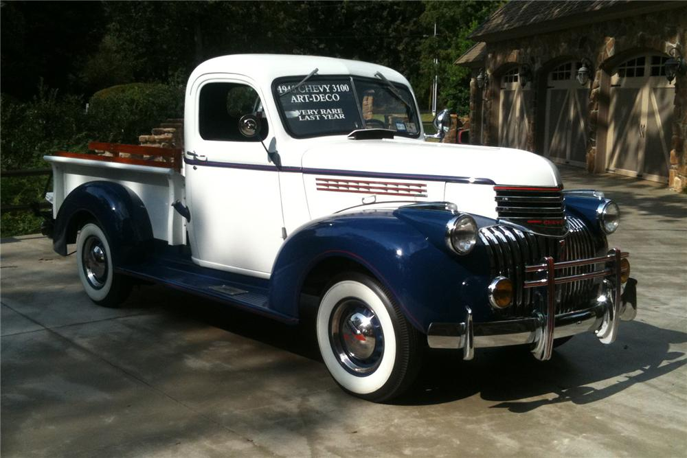 1946 CHEVROLET 3100 PICKUP - Front 3/4 - 97704