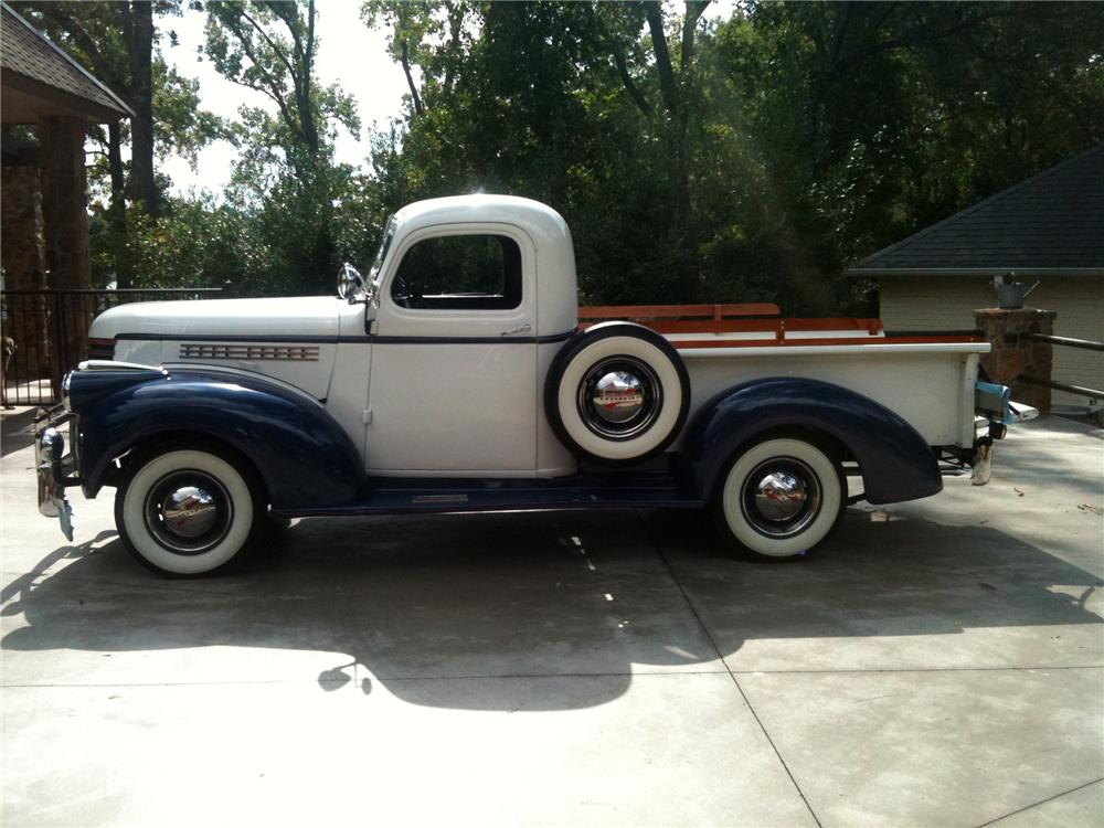 1946 CHEVROLET 3100 PICKUP - Side Profile - 97704