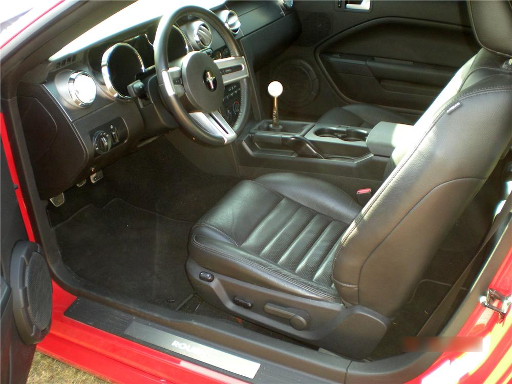 2008 FORD MUSTANG ROUSH FASTBACK - Interior - 97705