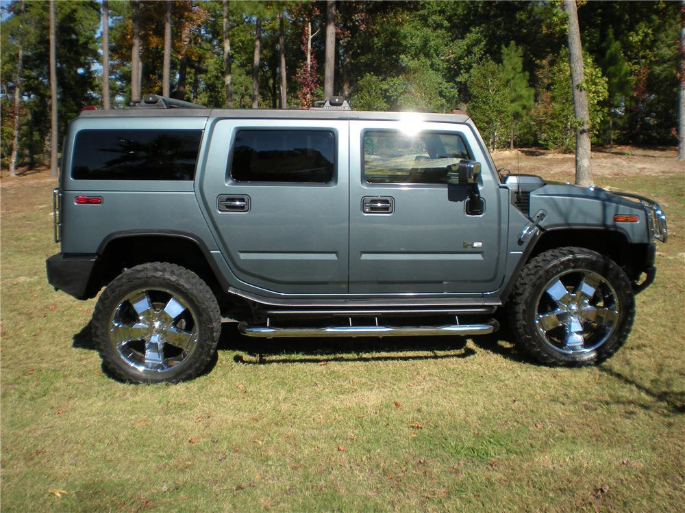 2005 HUMMER H2 SUV - Side Profile - 97709