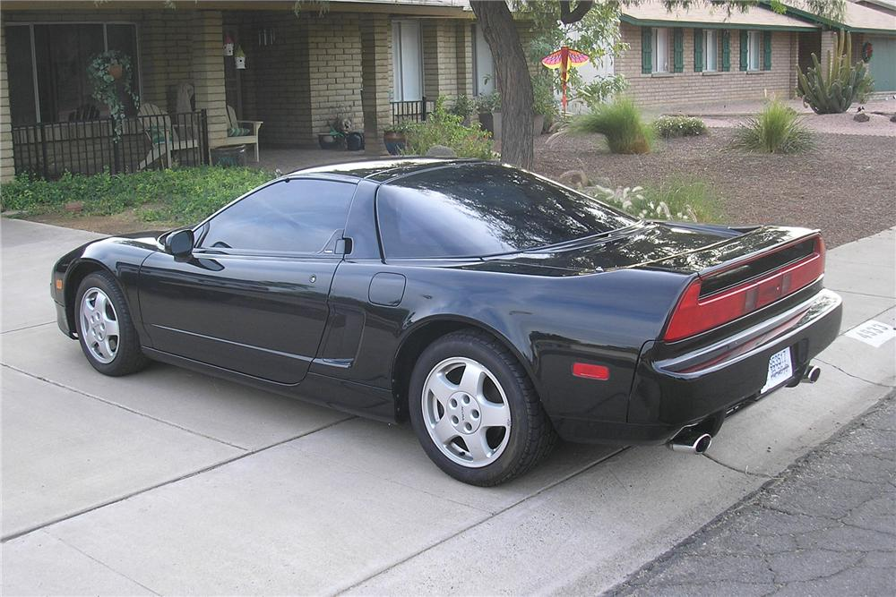 1991 ACURA NSX COUPE - Rear 3/4 - 97712