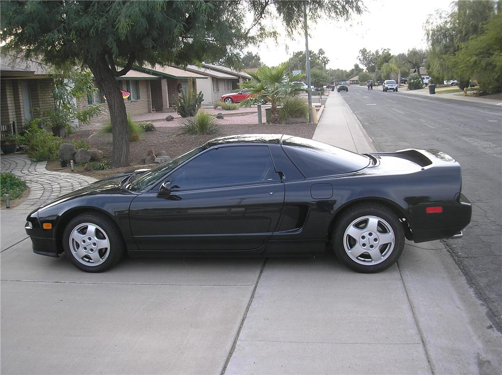 1991 ACURA NSX COUPE - Side Profile - 97712
