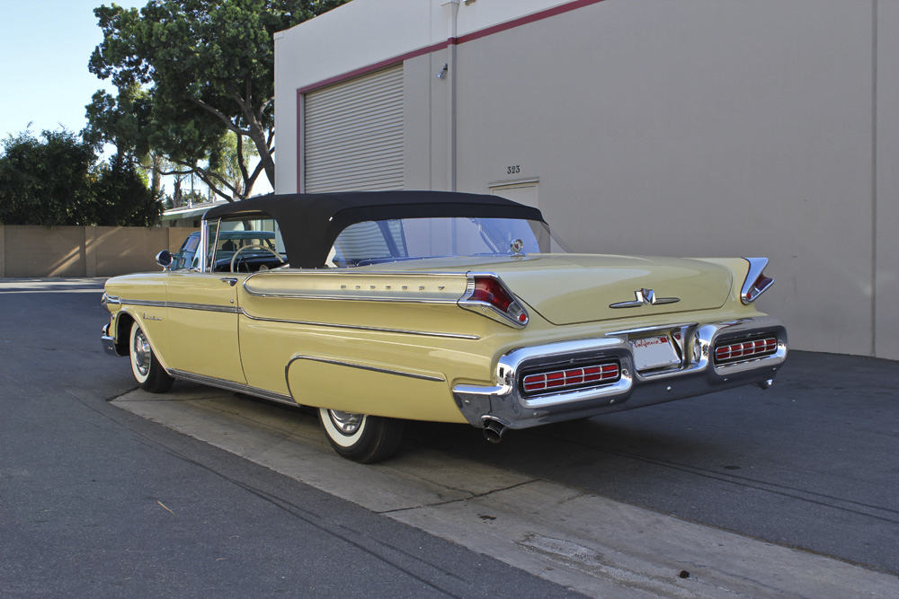 1957 MERCURY MONTCLAIR CONVERTIBLE - Rear 3/4 - 97723