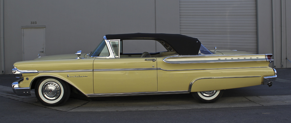 1957 MERCURY MONTCLAIR CONVERTIBLE - Side Profile - 97723