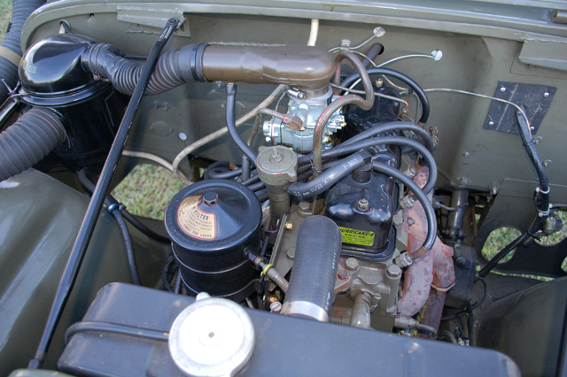 1953 WILLYS M-38 SUV - Engine - 97724
