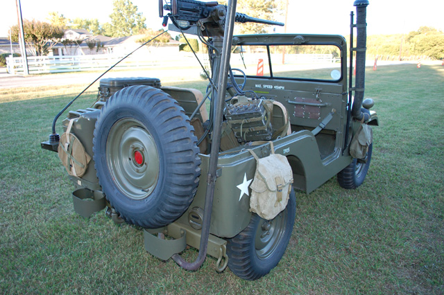 1953 WILLYS M-38 SUV - Rear 3/4 - 97724