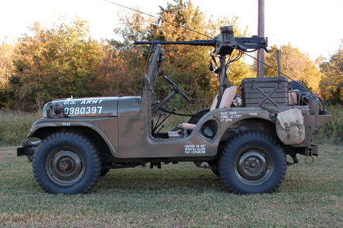 1953 WILLYS M-38 SUV - Side Profile - 97724