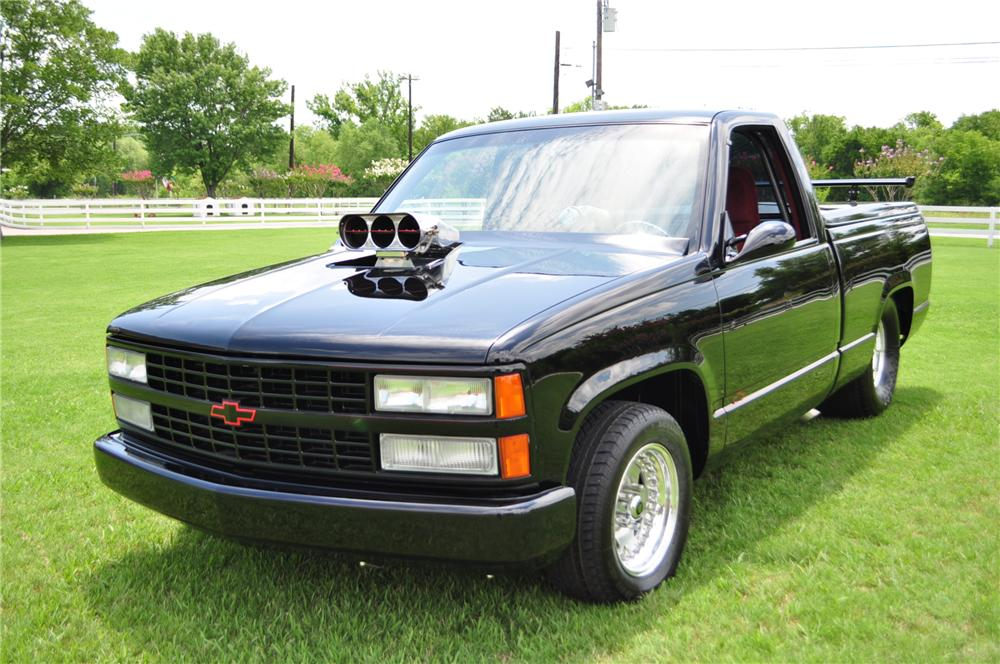 1990 CHEVROLET PRO-STREET PICKUP - Front 3/4 - 97727
