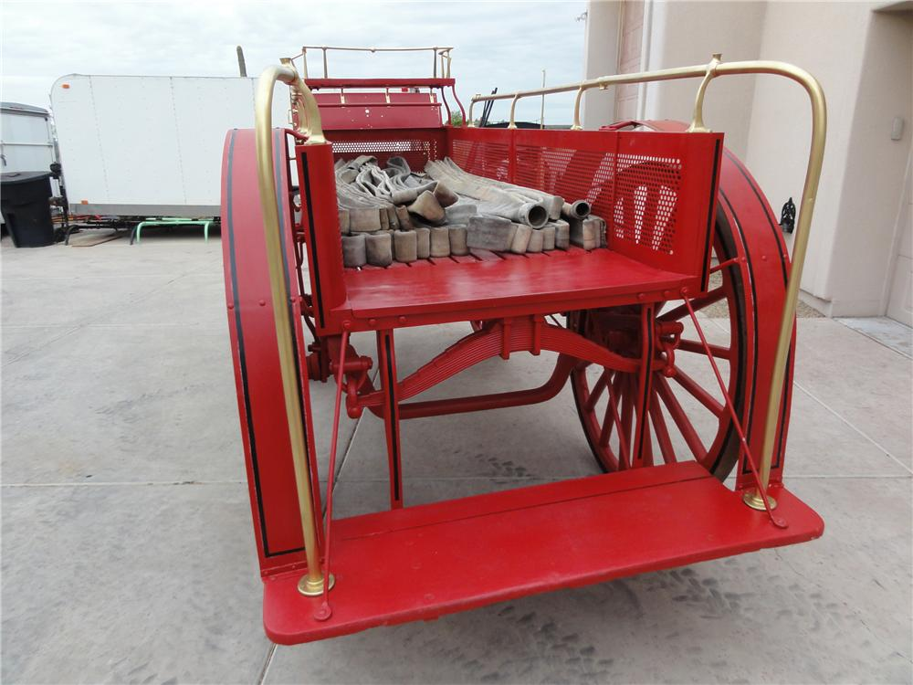 0 BUGGY FIRE DEPARTMENT HOSE WAGON - Interior - 97733