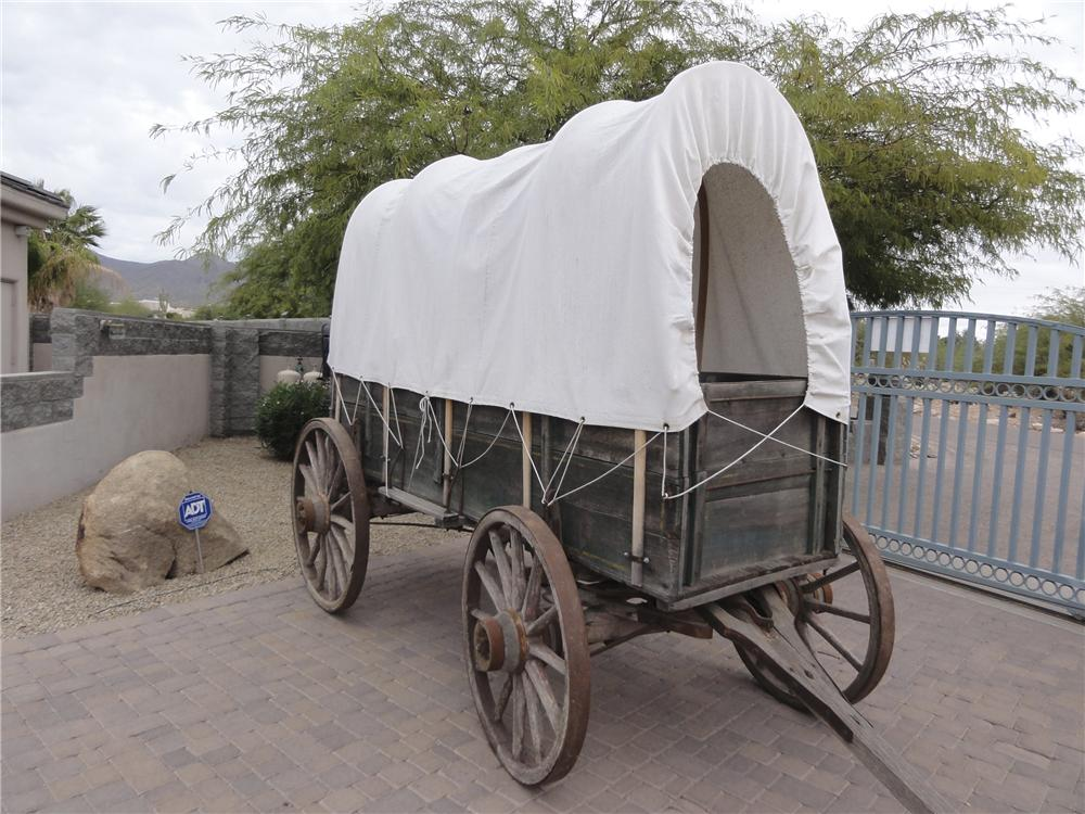 0 COVERED WAGON  - Front 3/4 - 97739