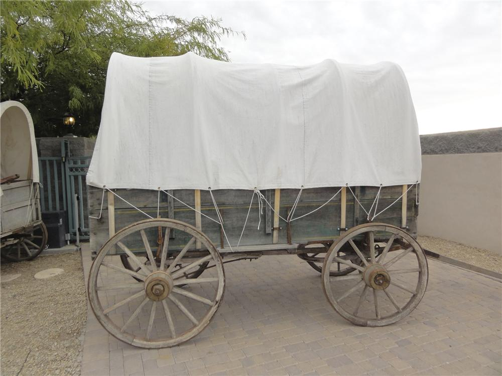 0 COVERED WAGON  - Side Profile - 97739