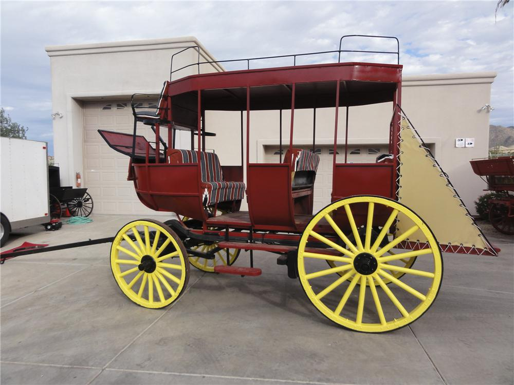 0 STAGE COACH MUD WAGON - Side Profile - 97743