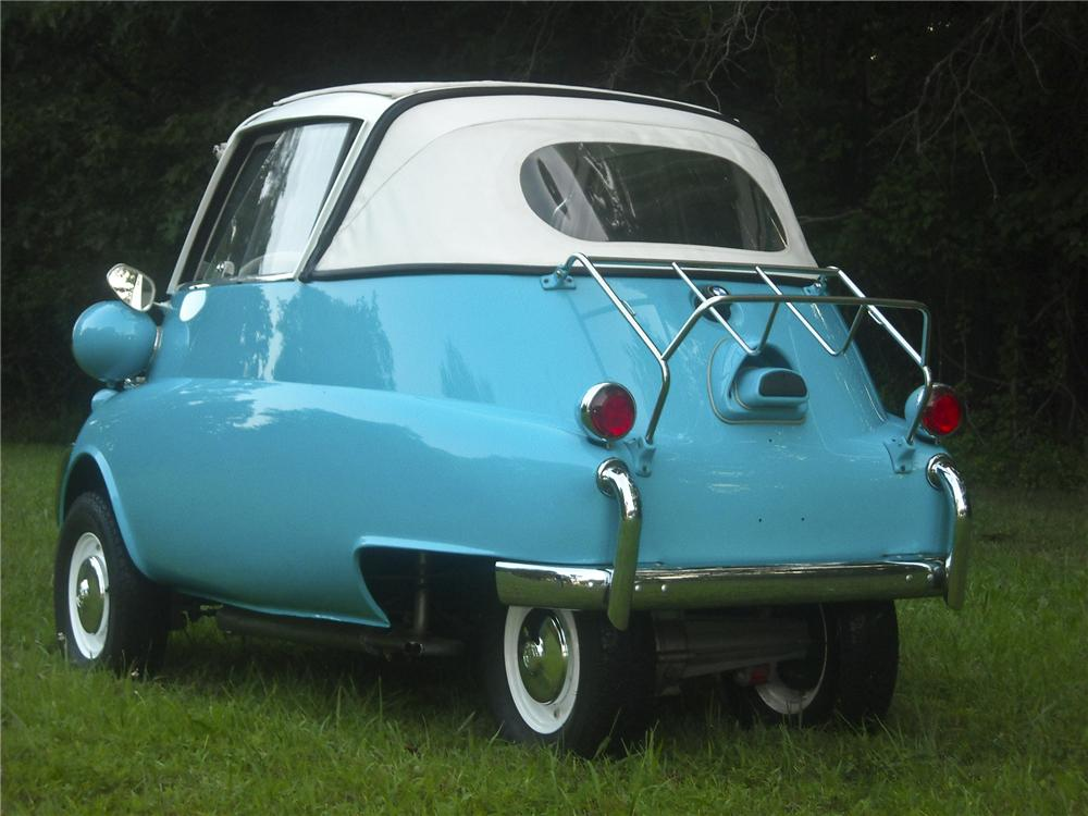 1957 BMW ISETTA 300 CONVERTIBLE - Rear 3/4 - 97880