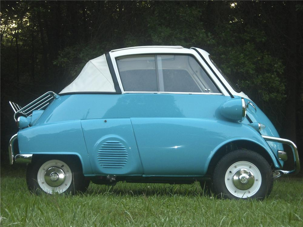 1957 BMW ISETTA 300 CONVERTIBLE - Side Profile - 97880