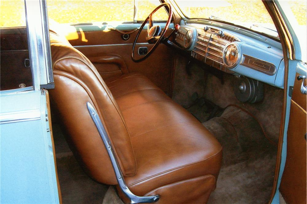 1948 LINCOLN CONTINENTAL CONVERTIBLE - Interior - 97885