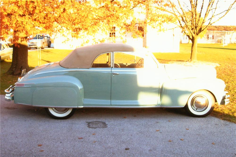 1948 LINCOLN CONTINENTAL CONVERTIBLE - Side Profile - 97885