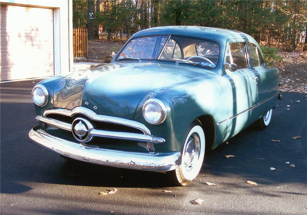 1949 ford custom 2 door coupe 97887