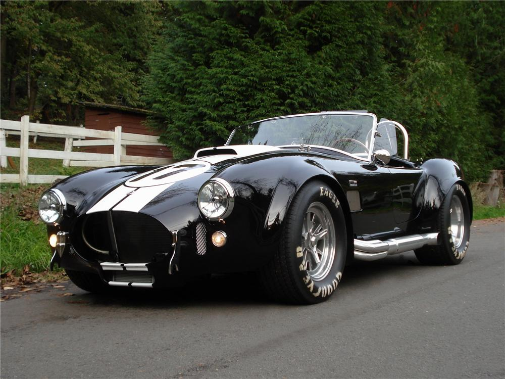1999 SUPERFORMANCE MK3 COBRA ROADSTER REPLICA - Front 3/4 - 97888